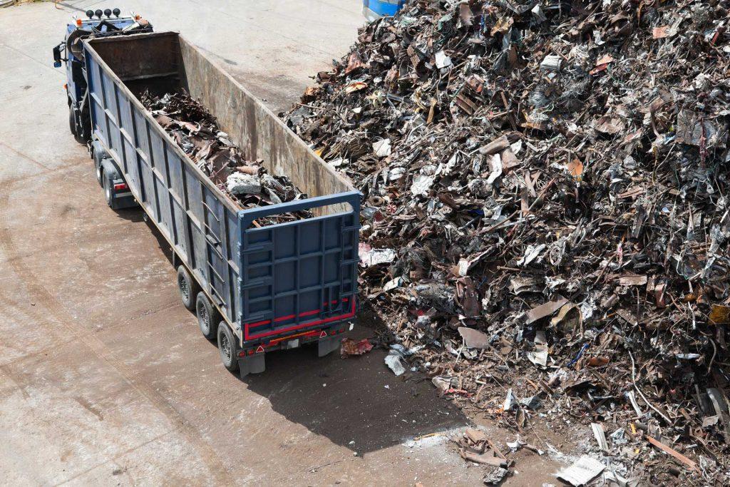 industrial scrap metal pickup